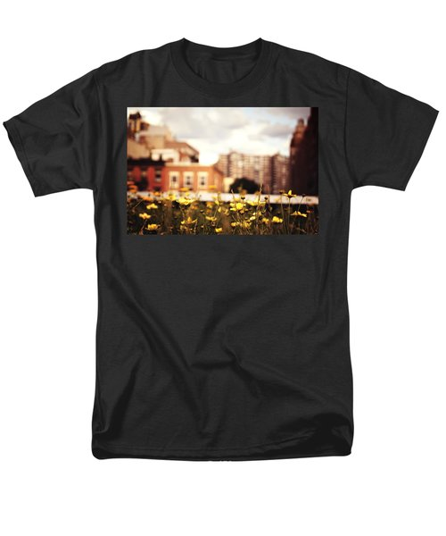 Flowers - High Line Park - New York City Men's T-Shirt  (Regular Fit) by Vivienne Gucwa