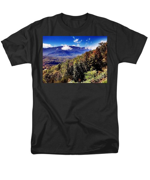 Foothills Parkway Tennessee Men's T-Shirt  (Regular Fit) by Janice Spivey