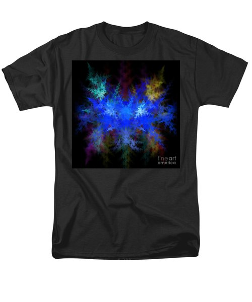 Fractal Men's T-Shirt  (Regular Fit) by Henrik Lehnerer