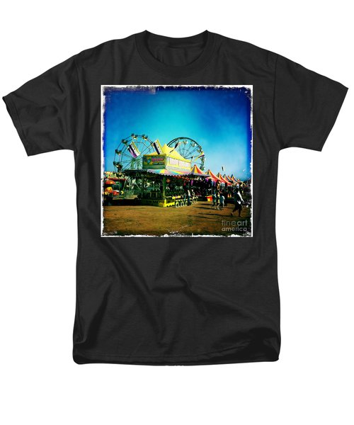 Men's T-Shirt  (Regular Fit) featuring the photograph Fun At The Fair by Nina Prommer