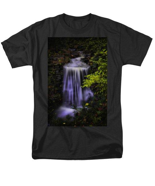 Men's T-Shirt  (Regular Fit) featuring the photograph Garden Falls by Lynne Jenkins
