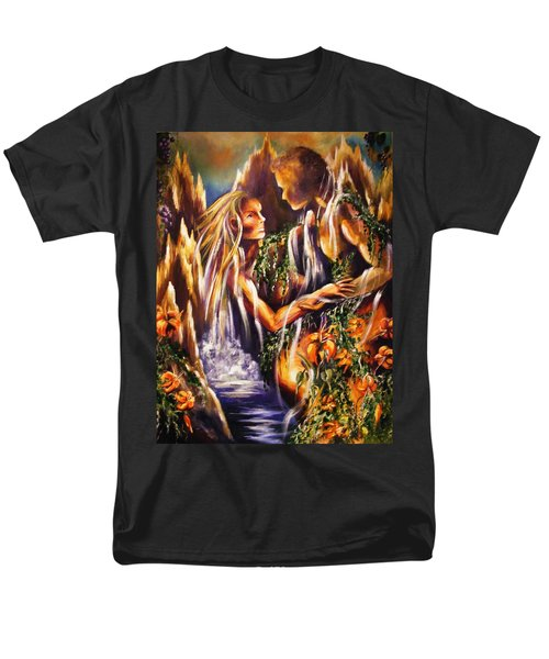 Garden Of Earthly Delights Men's T-Shirt  (Regular Fit) by Karen  Ferrand Carroll