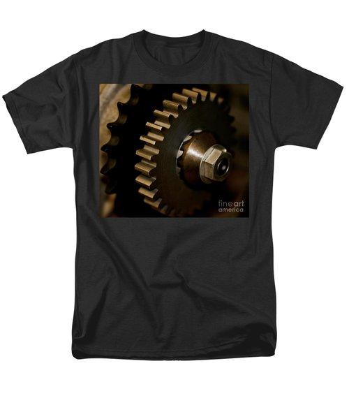 Gears  Men's T-Shirt  (Regular Fit) by Wilma  Birdwell