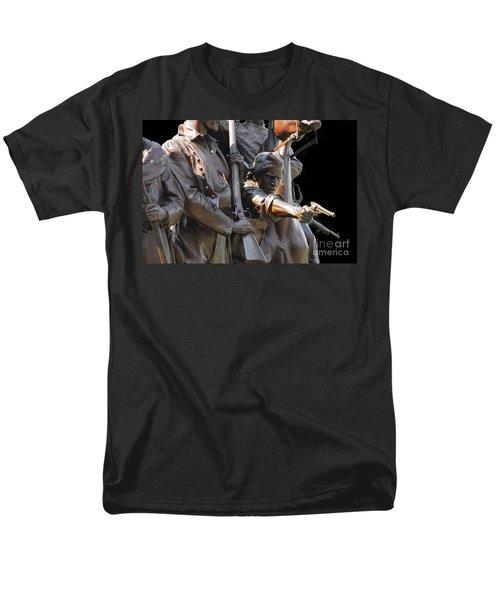 Gettysburg Monument Men's T-Shirt  (Regular Fit) by Cindy Manero