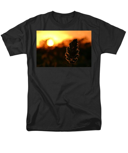 Glowing Leaf Men's T-Shirt  (Regular Fit) by Zawhaus Photography