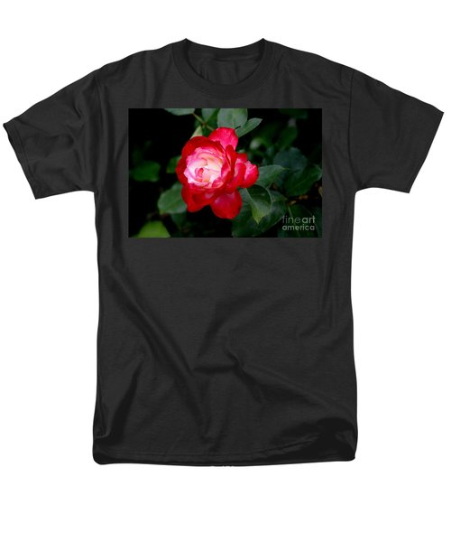 Men's T-Shirt  (Regular Fit) featuring the photograph Glowing by Living Color Photography Lorraine Lynch