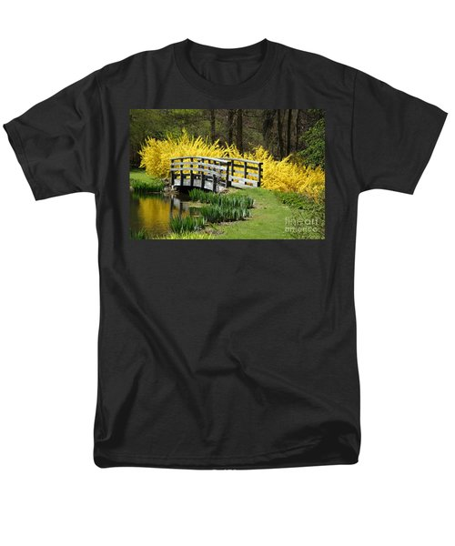 Golden Days Of Spring Men's T-Shirt  (Regular Fit) by Living Color Photography Lorraine Lynch