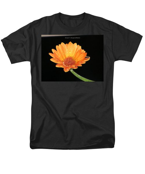 Golden Droplets Men's T-Shirt  (Regular Fit) by Sonali Gangane