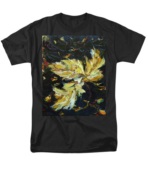 Men's T-Shirt  (Regular Fit) featuring the painting Golden Flight by Judith Rhue