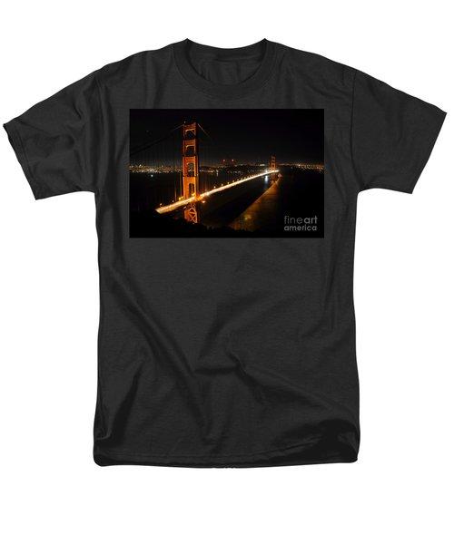 Golden Gate Bridge 2 Men's T-Shirt  (Regular Fit) by Vivian Christopher