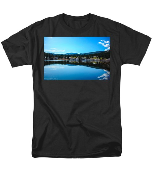 Men's T-Shirt  (Regular Fit) featuring the photograph Golf Course by Shannon Harrington