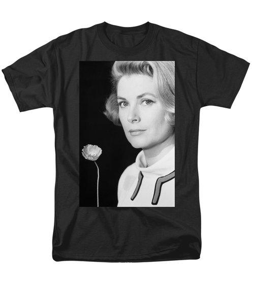 Grace Kelly (1928-1982) Men's T-Shirt  (Regular Fit) by Granger