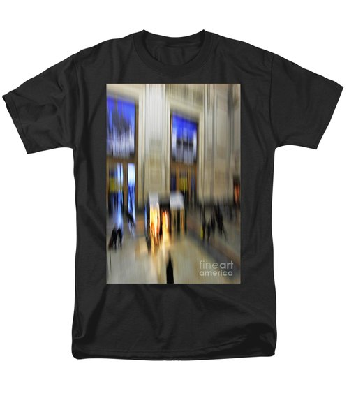 Men's T-Shirt  (Regular Fit) featuring the photograph Grand Central Station Italian Style by Andy Prendy