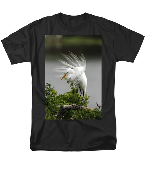 Great Egret Men's T-Shirt  (Regular Fit) by Doug Lloyd