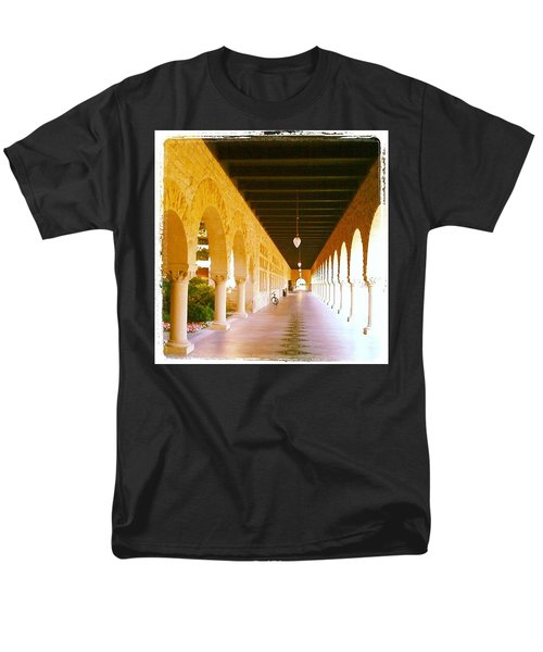 Halls Of Learning - Stanford University Men's T-Shirt  (Regular Fit) by Anna Porter