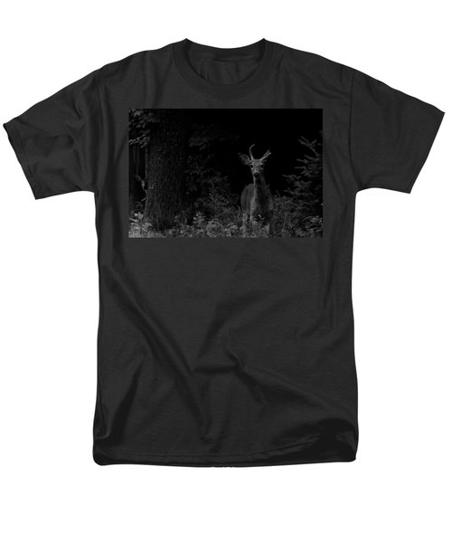 Men's T-Shirt  (Regular Fit) featuring the photograph Hello Deer by Cheryl Baxter