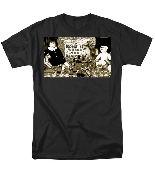 Men's T-Shirt  (Regular Fit) featuring the photograph Home Americana Style by Pamela Hyde Wilson