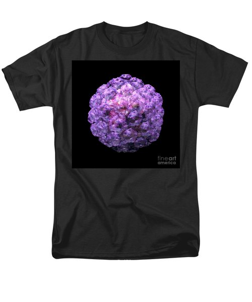 Men's T-Shirt  (Regular Fit) featuring the digital art Human Papilloma Virus  10 by Russell Kightley