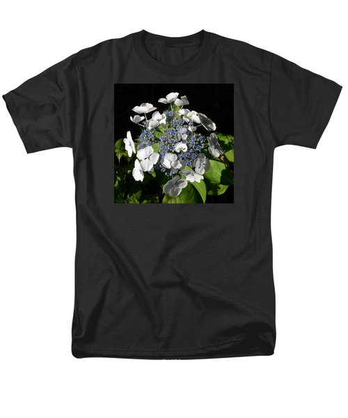 Men's T-Shirt  (Regular Fit) featuring the digital art Hydranga by Claude McCoy
