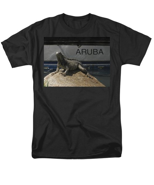 Men's T-Shirt  (Regular Fit) featuring the photograph Iguana by David Gleeson
