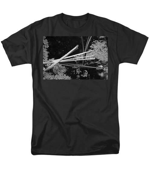 Men's T-Shirt  (Regular Fit) featuring the photograph In The Pond Asian Influence by Kathleen Grace