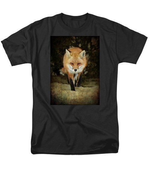Island Beach Fox Men's T-Shirt  (Regular Fit) by Sami Martin
