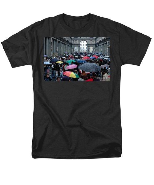 It Rains Men's T-Shirt  (Regular Fit) by Vivian Christopher
