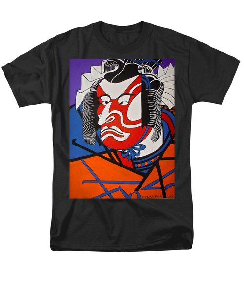 Kabuki Actor 2 Men's T-Shirt  (Regular Fit) by Stephanie Moore
