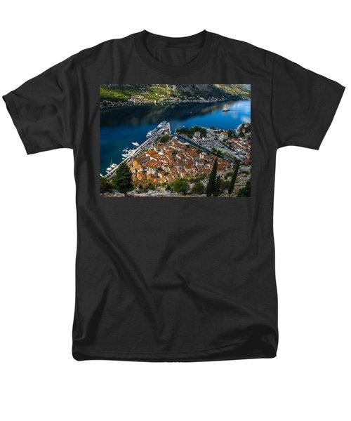 Men's T-Shirt  (Regular Fit) featuring the photograph Kotor Montenegro by David Gleeson