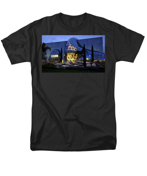 Men's T-Shirt  (Regular Fit) featuring the photograph Lady In The Window by David Lee Thompson