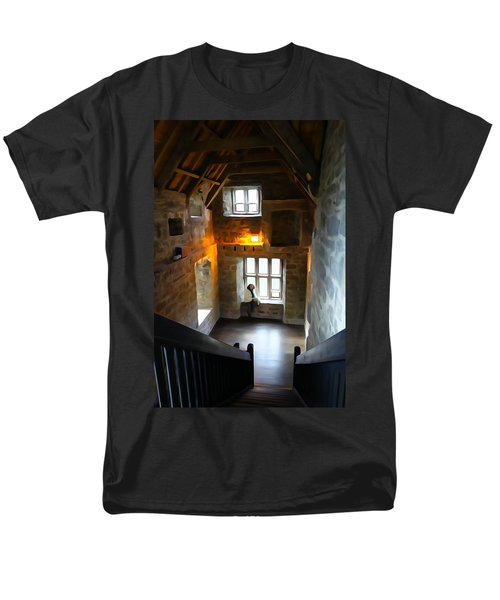 Men's T-Shirt  (Regular Fit) featuring the photograph Lady In Waiting  by Charlie and Norma Brock