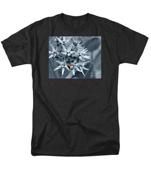 Ladybug Flower Men's T-Shirt  (Regular Fit) by Rebecca Margraf