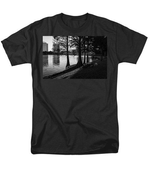 Lake Eola Water Edge Men's T-Shirt  (Regular Fit) by Lynn Palmer