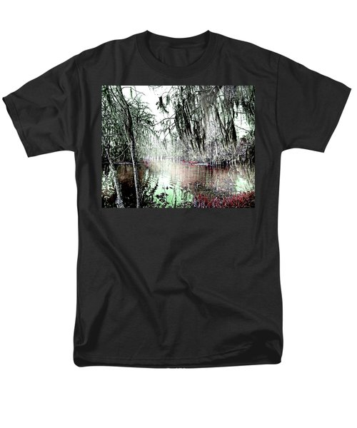 Men's T-Shirt  (Regular Fit) featuring the photograph Lake Martin Swamp by Lizi Beard-Ward