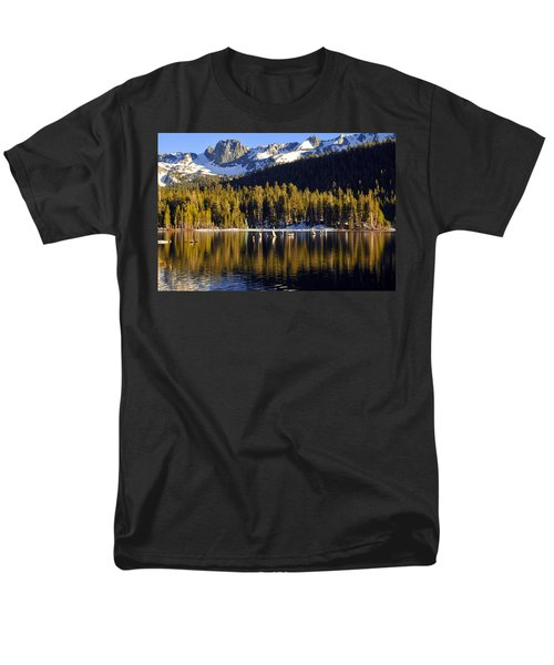 Men's T-Shirt  (Regular Fit) featuring the photograph Lake Mary Reflections by Lynn Bauer