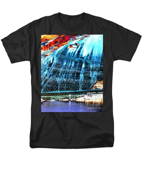 Lake Powell Reflection Men's T-Shirt  (Regular Fit) by Rebecca Margraf