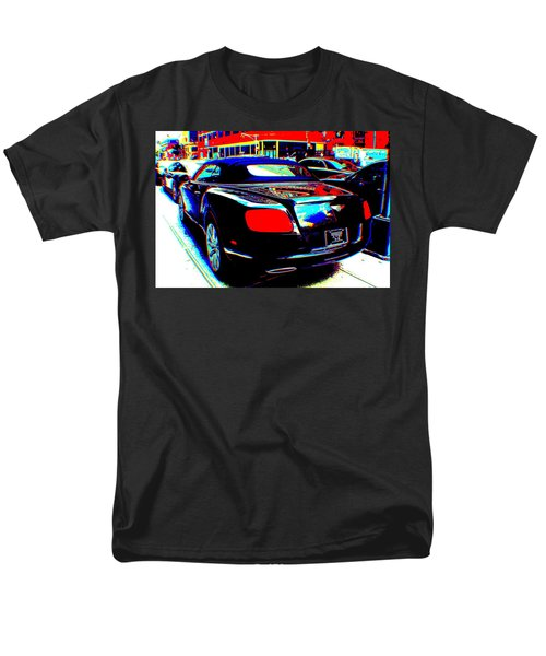 Men's T-Shirt  (Regular Fit) featuring the digital art Living  In A Movie by Rogerio Mariani