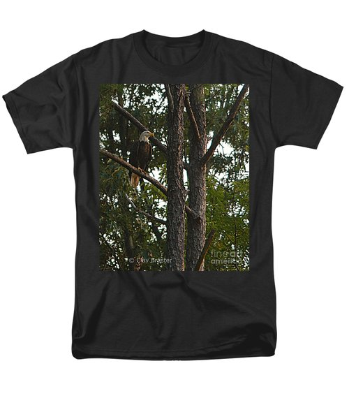 Men's T-Shirt  (Regular Fit) featuring the photograph Majestic Bald Eagle by Clayton Bruster