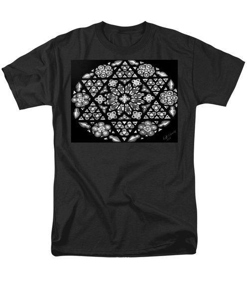 Mandala Of Hope Phase 1 Men's T-Shirt  (Regular Fit) by Lisa Brandel