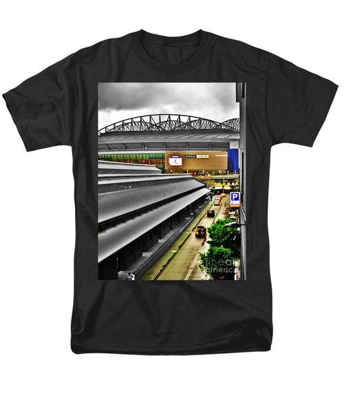 Men's T-Shirt  (Regular Fit) featuring the photograph Melbourne Docklands by Blair Stuart