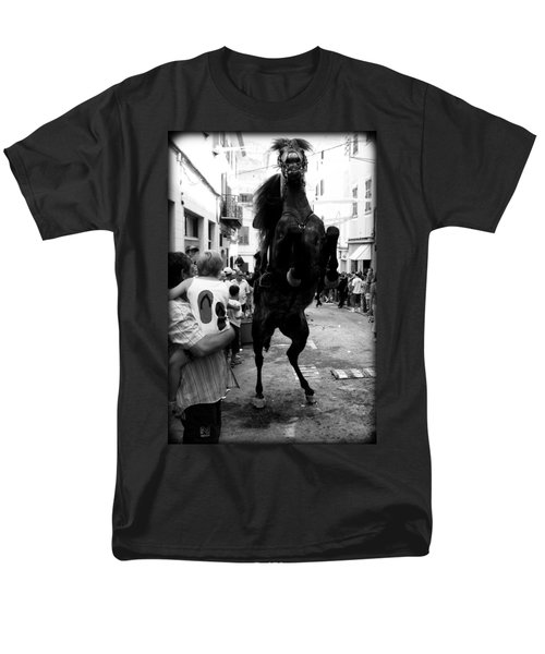 Men's T-Shirt  (Regular Fit) featuring the photograph Menorca Horse 3 by Pedro Cardona