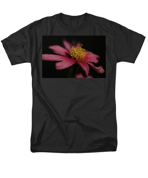 Midnight Bloom Men's T-Shirt  (Regular Fit) by Lauren Radke