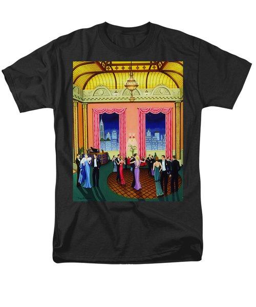 Midnight In Manhattan Men's T-Shirt  (Regular Fit) by Tracy Dennison