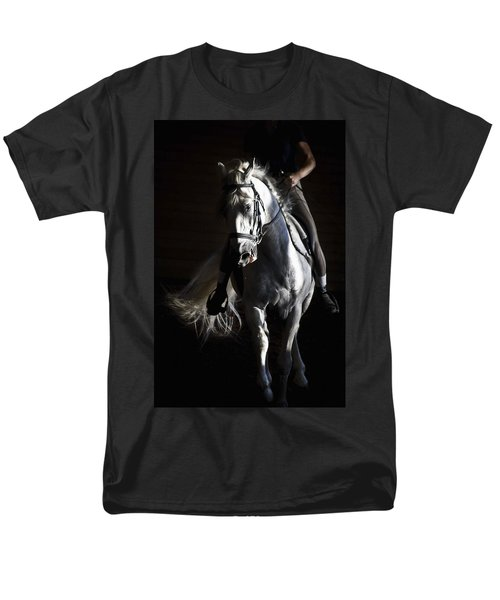 Men's T-Shirt  (Regular Fit) featuring the photograph Midnight Ride by Wes and Dotty Weber