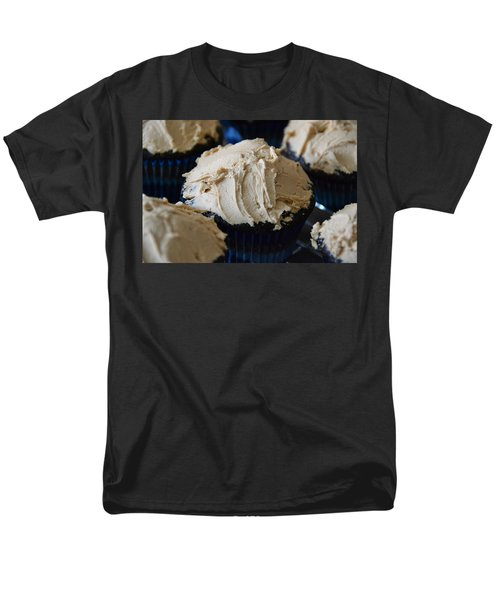 Mini Mountain Of Mocha Men's T-Shirt  (Regular Fit) by Bonnie Myszka
