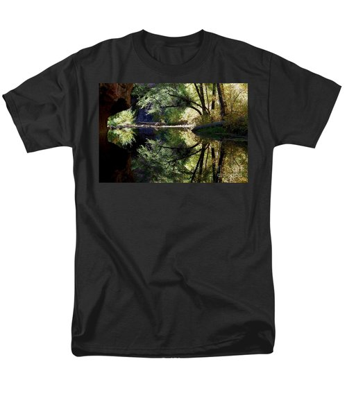Men's T-Shirt  (Regular Fit) featuring the photograph Mirror Reflection by Tam Ryan