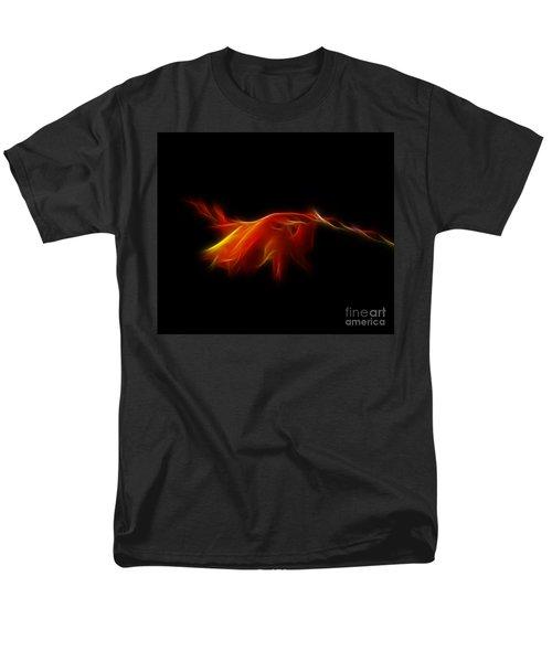 Men's T-Shirt  (Regular Fit) featuring the photograph Montbretia by Lynn Bolt