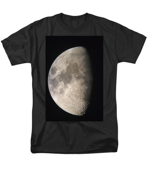 Men's T-Shirt  (Regular Fit) featuring the photograph Moon Against The Black Sky by John Short