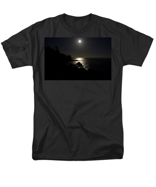Men's T-Shirt  (Regular Fit) featuring the photograph Moon Over Dor by Brent L Ander