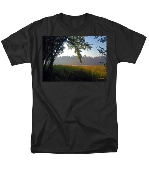 Morning On The River Men's T-Shirt  (Regular Fit) by Kay Lovingood